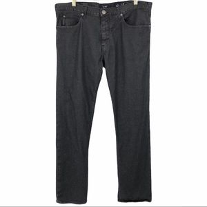 Armani Jeans Black/Gray Wash J21 Regular 38X34